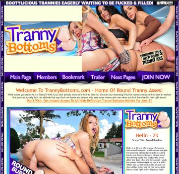 TrannyBottoms (SiteRip) Image Cover