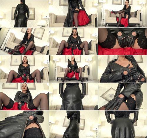 Kinky Leather Clips - Sensual Leather Biker Dress JOI [HD 720P]