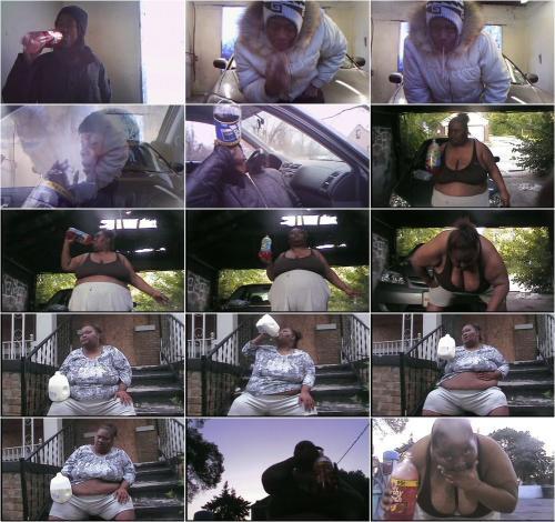 Ebony girls vomiting [SD 360P]