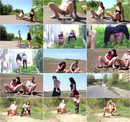 Double the fun - Two Pissing Girls compilation [UltraHD/4K 2160P]